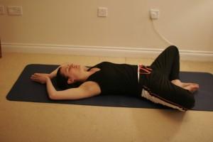 Reclining Bound Angle Yoga Pose – Supta Baddha Konasana