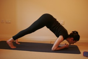 Makarasana - Dolphin Yoga Push Up