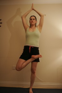 Half Lotus Tree Yoga Pose – Virksasana