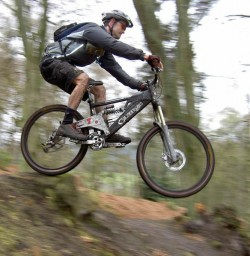 Mountain biking is a great way to get out and get fit