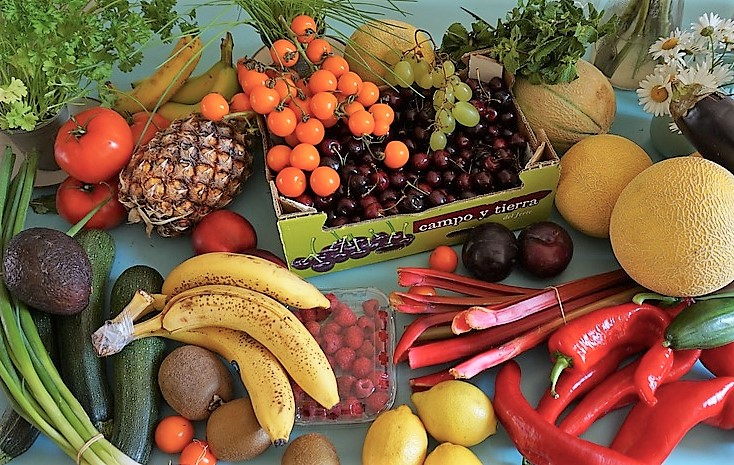 more than 5 a day fruit and veg