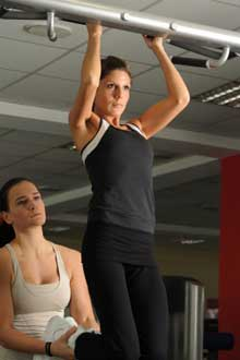 assisted pull ups for stronger back
