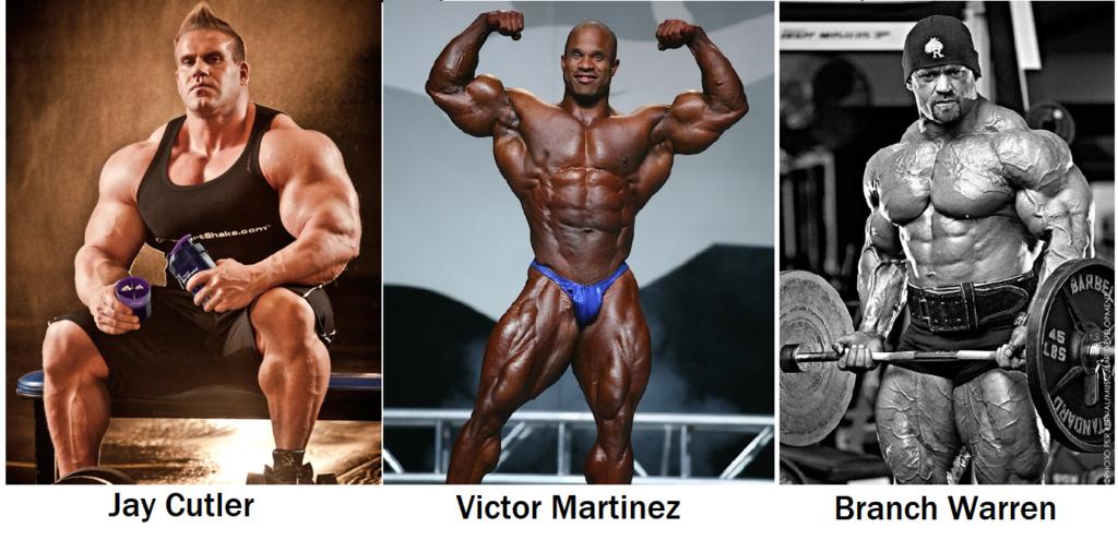 Bodybuilding Diets Of Pro Bodybuilders Jay Cutler Branch Warren And Victor Martinez Motleyhealth
