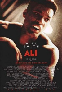 Movie Poster for Ali, showing Will Smith
