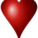 a valentine heart