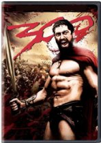 DVD Cover for 300 with Gerard Butler