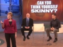 Dr Oz Show on the television