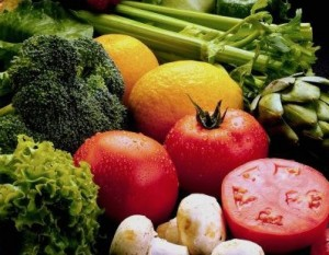 A glut of vegetables can be healthy