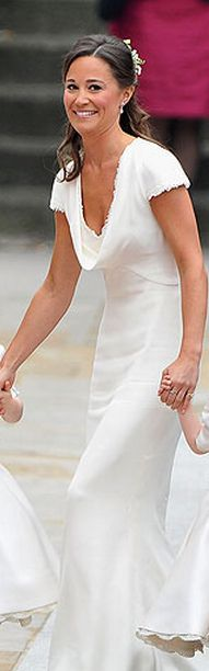 Pippa at Kate and Will's Wedding