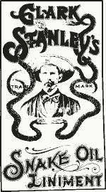 Clark Stanleys Snake Oil