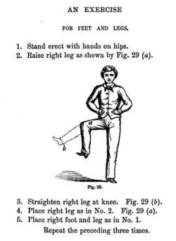 Exercise for Feet and legs