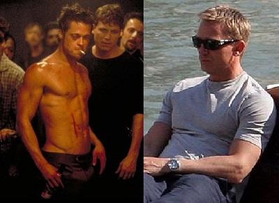 Brad Pitt and Daniel Craig