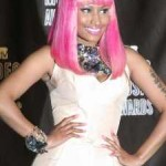 Nicki Minaj at 2010 MTV Video Music Awards.