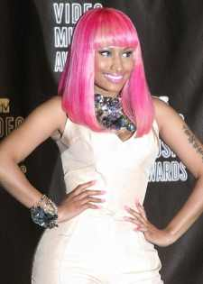 Nicki Minaj at 2010 MTV Video Music Awards.