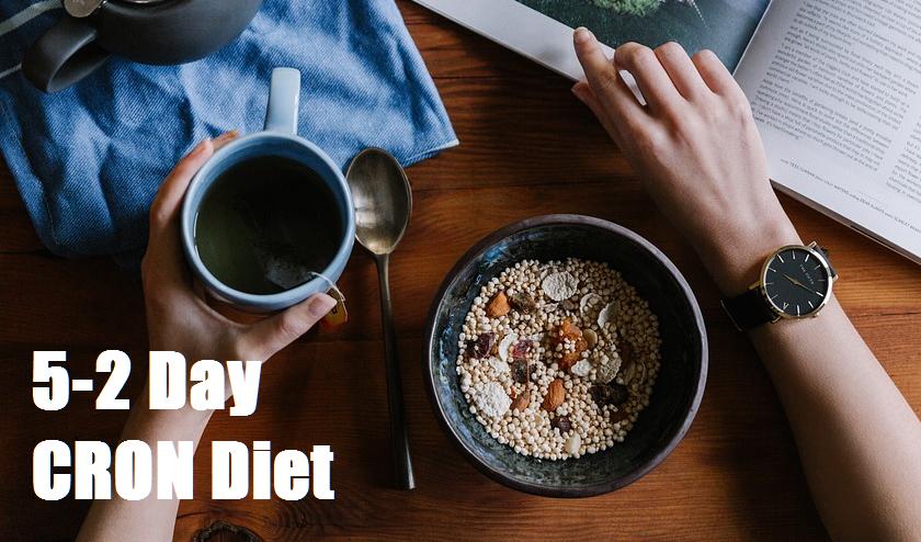 5 2 day cron diet plan