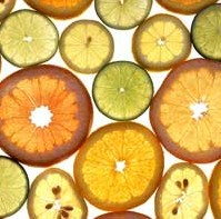 Citrus fruits - oranges, lemons and limes