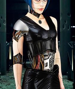 Female Cyborg by trantt28
