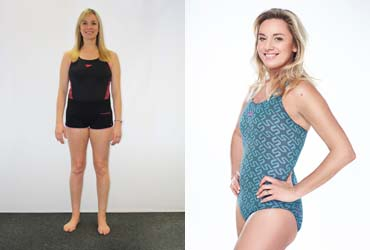 Tamzin Outhwaite Before and After Photos - 6 Weeks of Training With Speedo.co.uk