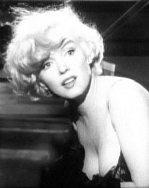 Marilyn Monroe in Some Like it Hot trailer