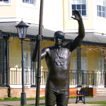 Sir Steve Redgrave Statue at Marlow