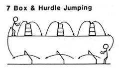 Gandy box and hurdle jumping