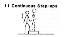 Gandy continuous step-ups