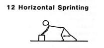 Gandy's horizontal sprinting
