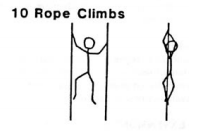 Gandy rope climbs