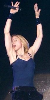 Madonna Ashtanga yoga queen, Date 2006, Author: Tony Barton
