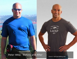Peter Attia before and after