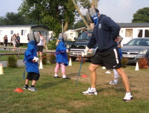 Fencing for kids