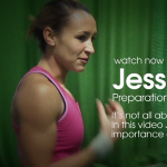 Jessica Ennis-Hill shot put