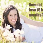 lose 15kg in 3 months