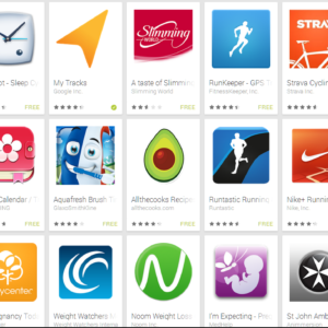 apps in the Google store