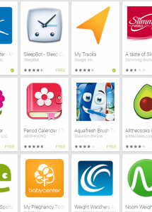Apps on Google Play: Top Free in Health & Fitness