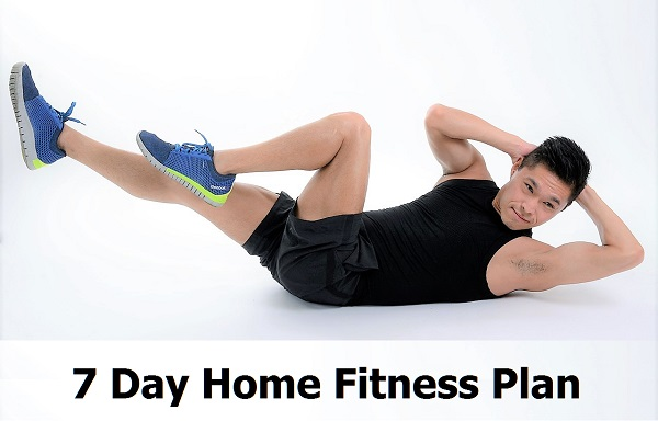 7 day home fitness plan