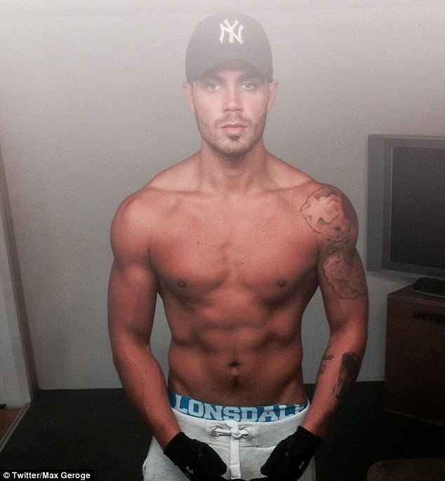 Max George's twitter pic