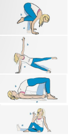 Tess 4 yoga exercises