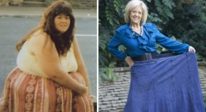 Carole Wright before and after