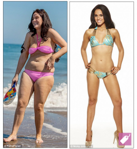 Vicky Pattison before and after photos..