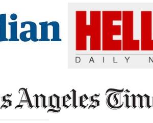 newspapers logos