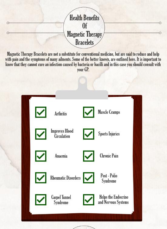 Magnetic Bracelet Benefits Alert