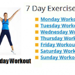 7 day exercise plan