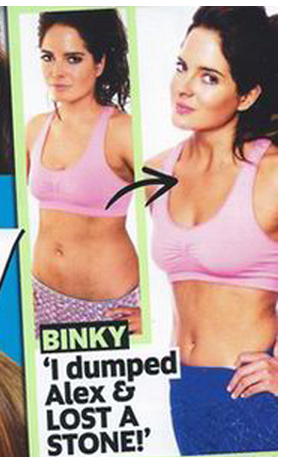 Binky on the cover Now Magazine