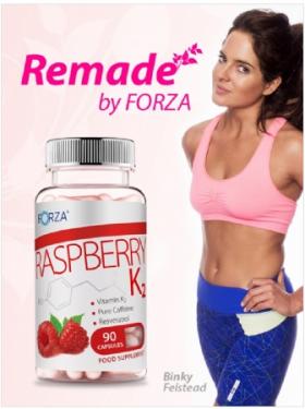 Binky promoting FORZA Raspberry K2