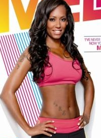 Mel B totally fit DVD cover