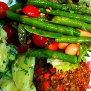 vegetables for runners