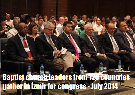Baptist church leaders from 120 countries gather in İzmir for congress