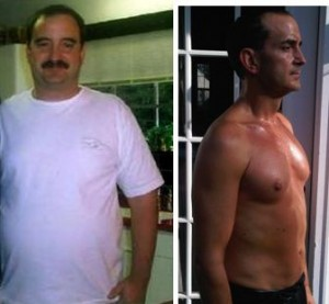 Steve Cooksey before after