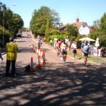 Runners in the Annual Baddow Races 10 Mile Charity Run